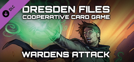 Dresden Files Cooperative Card Game - Wardens Attack