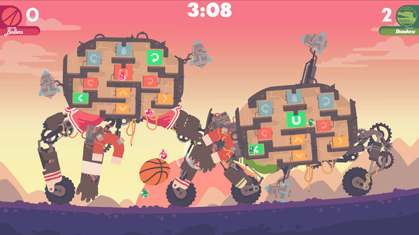 Screenshot of Regular Human Basketball