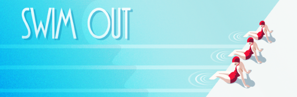 swim out on steam