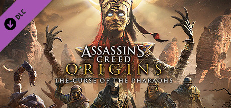 Assassins Creed Origins – The Curse Of The Pharaohs [PT-BR] Capa