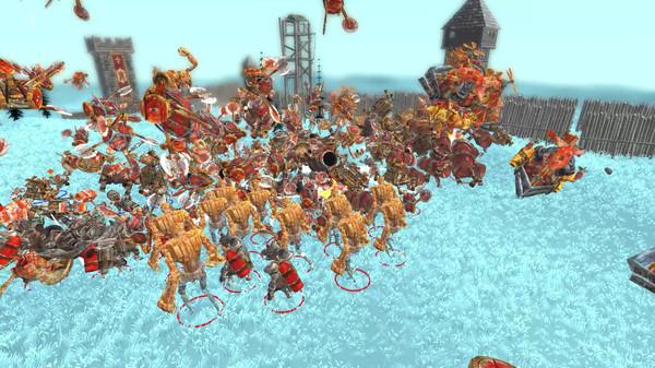 Steampunk Action Battle Simulator