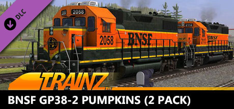 Trainz 2019 DLC: BNSF GP38-2 Pumpkins (2 Pack)
