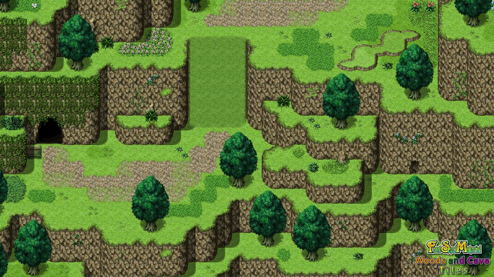 RPG Maker MV - FSM: Woods and Cave