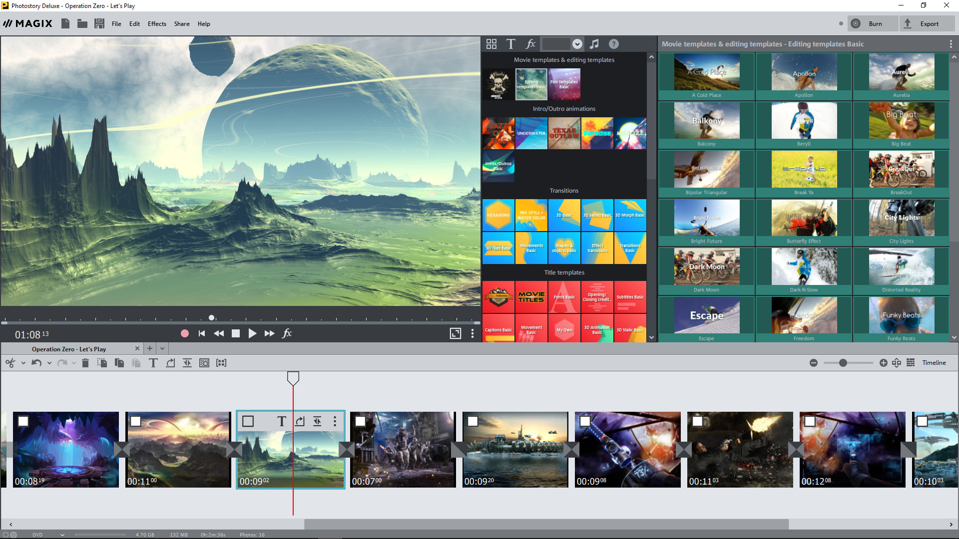 magix photostory deluxe for mac