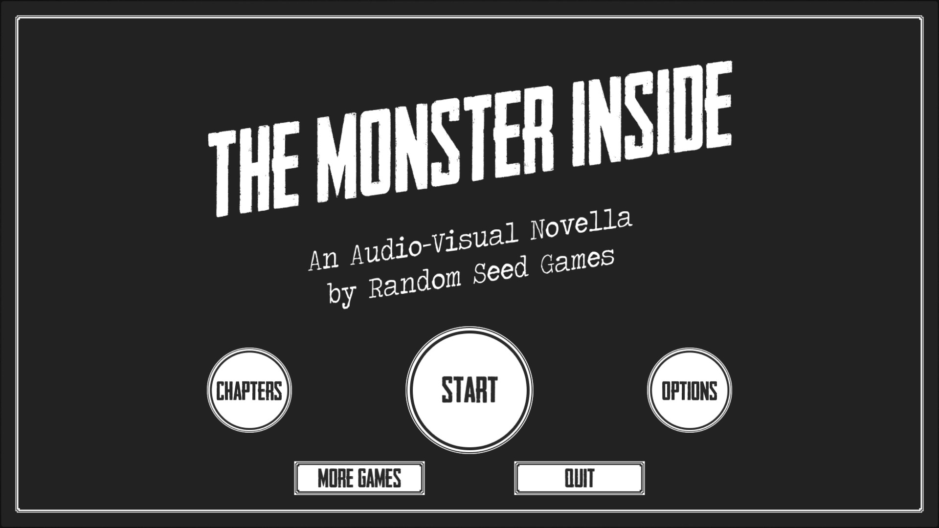 The Monster Inside on Steam