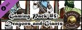 Fantasy Grounds - Gaming #5: Dragons & Giants (Token Pack)-dlc