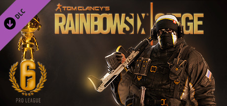 Rainbow Six Siege - Pro League Glaz Set