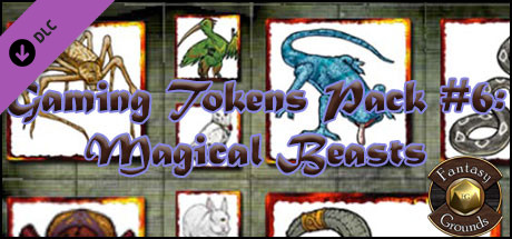 Fantasy Grounds - Gaming #6: Magical Beasts (Token Pack)