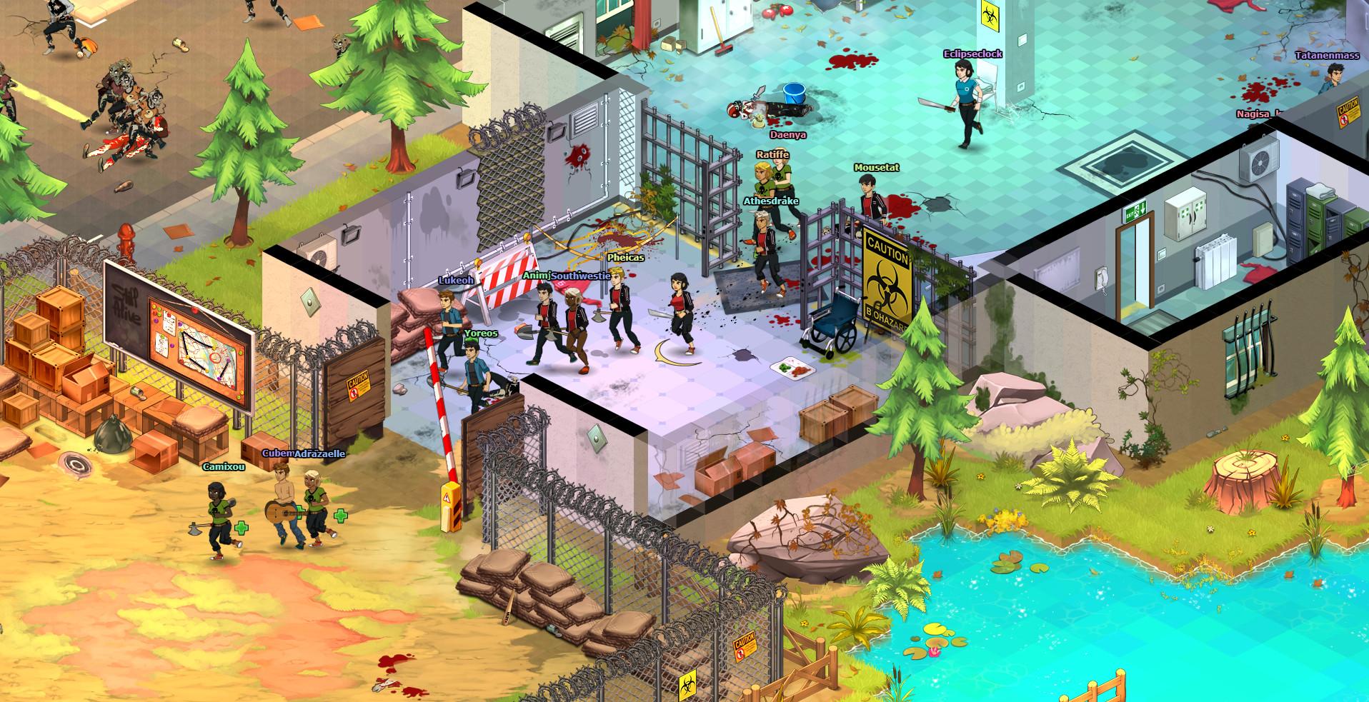 Dead Maze on Steam Zombie Key Design House Html on