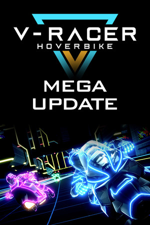V-Racer Hoverbike poster image on Steam Backlog