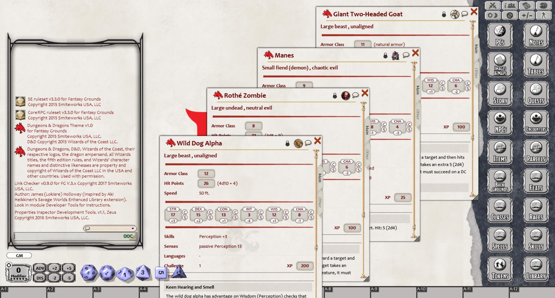 Fantasy Grounds - Dungeons & Dragons: Harried in Hillsfar on