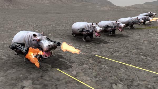 Screenshot of Beast Battle Simulator