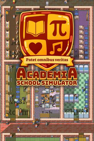 Academia : School Simulator poster image on Steam Backlog