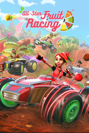 All-Star Fruit Racing poster image on Steam Backlog