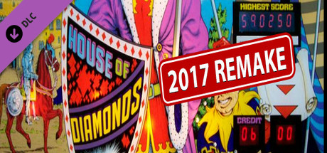 Zaccaria Pinball - House of Diamonds 2017 Table
