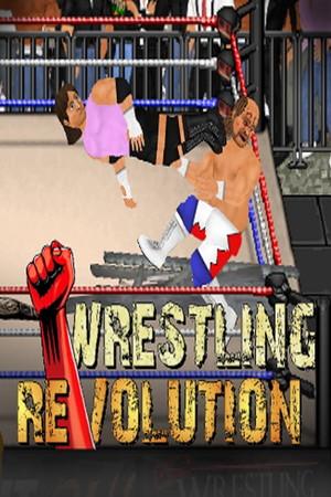 Wrestling Revolution 2D poster image on Steam Backlog