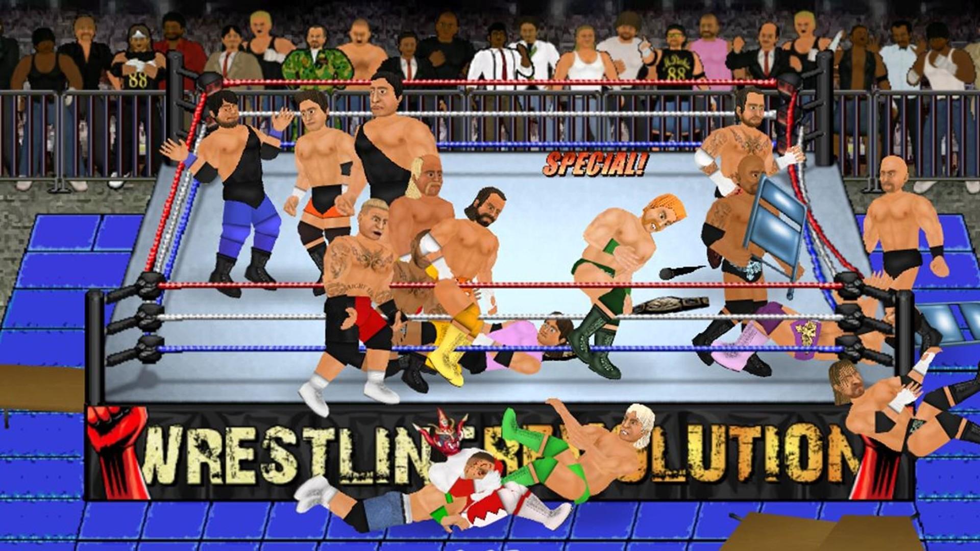 Wrestling Revolution 2D on Steam