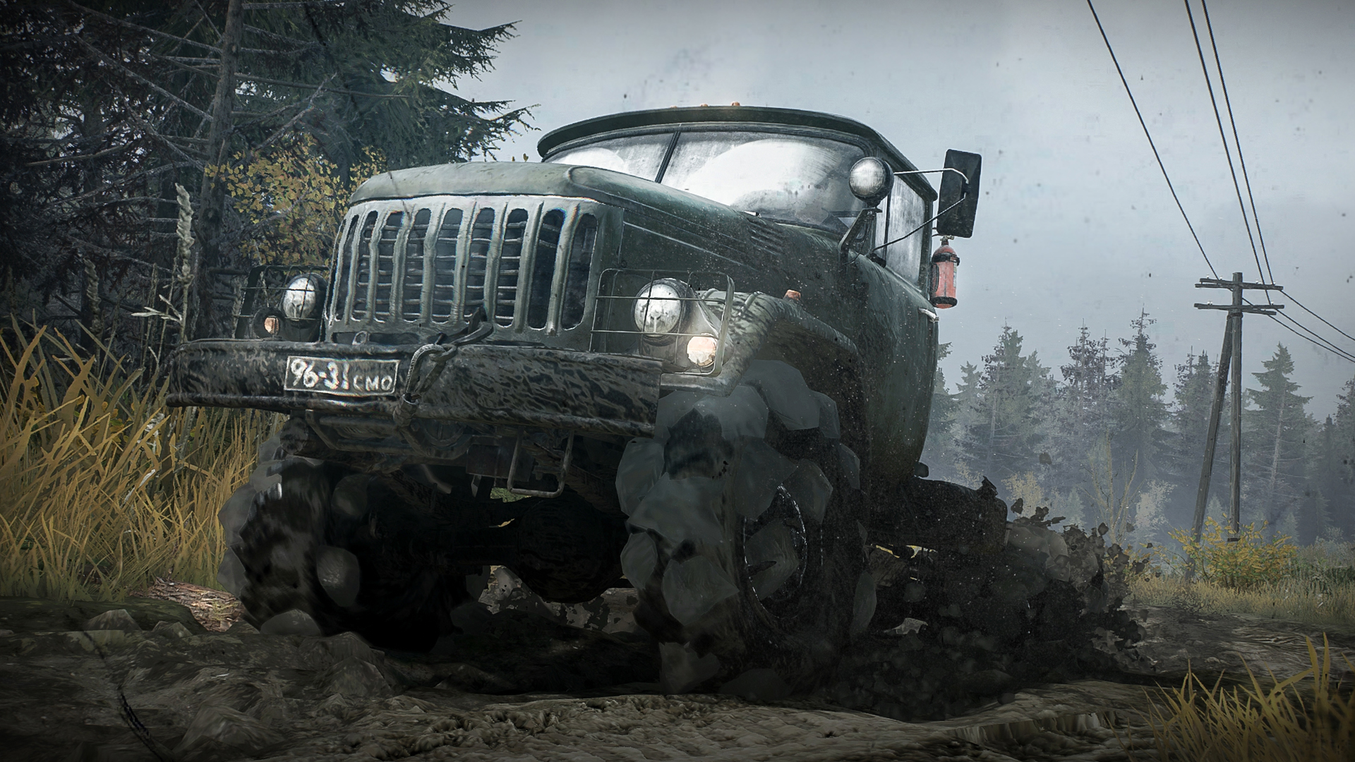 Spintires: MudRunner [2017|Rus|Eng|Multi9]