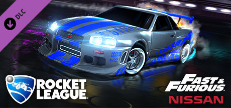 rocket league® – fast & furious™ '99 nissan skyline gt-r r34 on