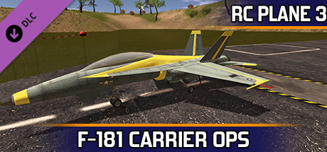 RC Plane 3 -Carrier Ops F 181