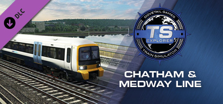 Train Simulator: Chatham Main and Medway Valley Lines Route Add-On cover art