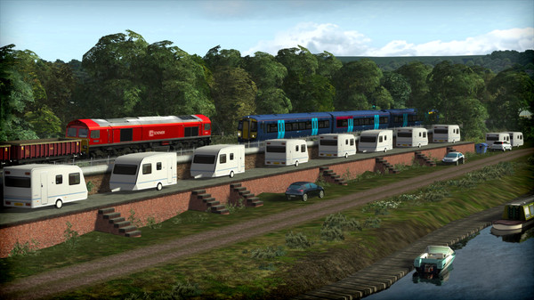 скриншот Train Simulator: Chatham Main and Medway Valley Lines Route Add-On 2