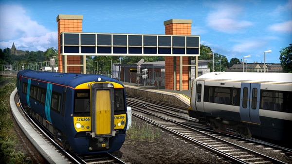 скриншот Train Simulator: Chatham Main and Medway Valley Lines Route Add-On 3