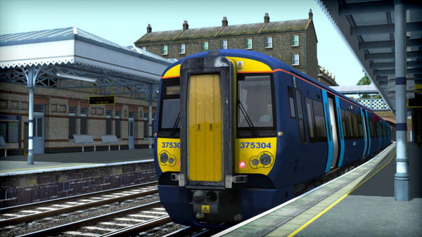 скриншот Train Simulator: Chatham Main and Medway Valley Lines Route Add-On 5