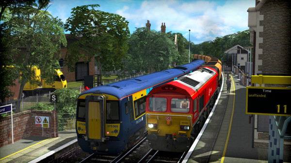 скриншот Train Simulator: Chatham Main and Medway Valley Lines Route Add-On 1