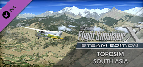 FSX Steam Edition: Toposim South Asia Add-On