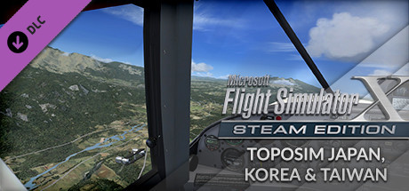 FSX Steam Edition: Toposim Japan, Korea & Taiwan Add-On