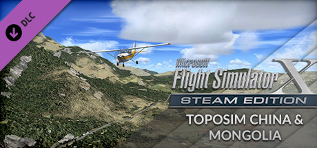 FSX Steam Edition: Toposim China & Mongolia Add-On
