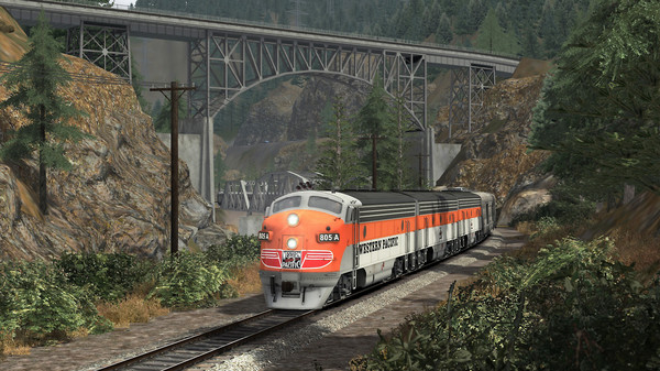 скриншот TS Marketplace: Feather River Canyon Scenario Pack 02 2
