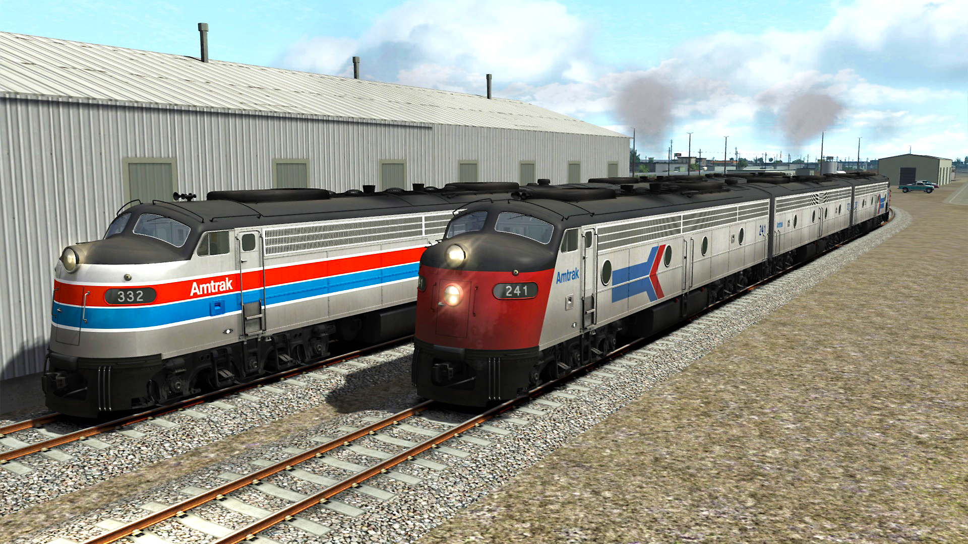 save 40 on train simulator amtrak e8 loco add on on steam