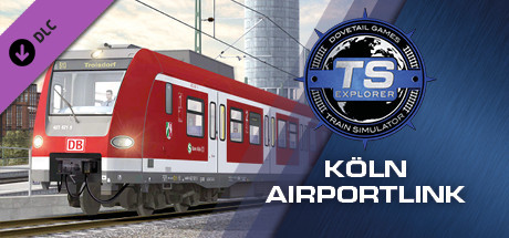 Train Simulator: Köln Airport Link Route Extension Add-On
