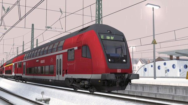 скриншот Train Simulator: Köln Airport Link Route Extension Add-On 1