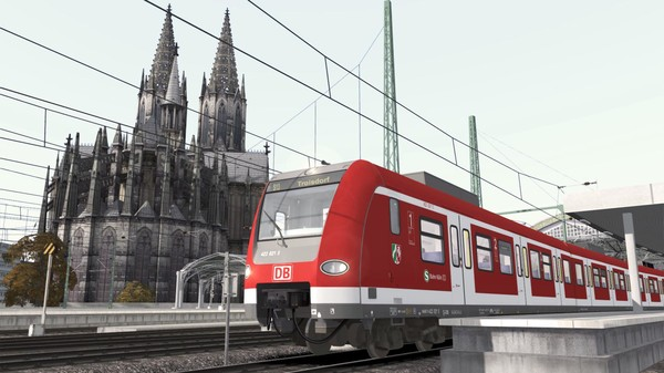 скриншот Train Simulator: Köln Airport Link Route Extension Add-On 0