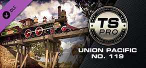 Train Simulator: Union Pacific No. 119 Steam Loco Add-On