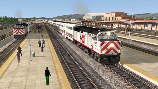 скриншот TS Marketplace: Peninsula Corridor: San Francisco - Gilroy Scenario Mini-Pack 01 Add-On 3