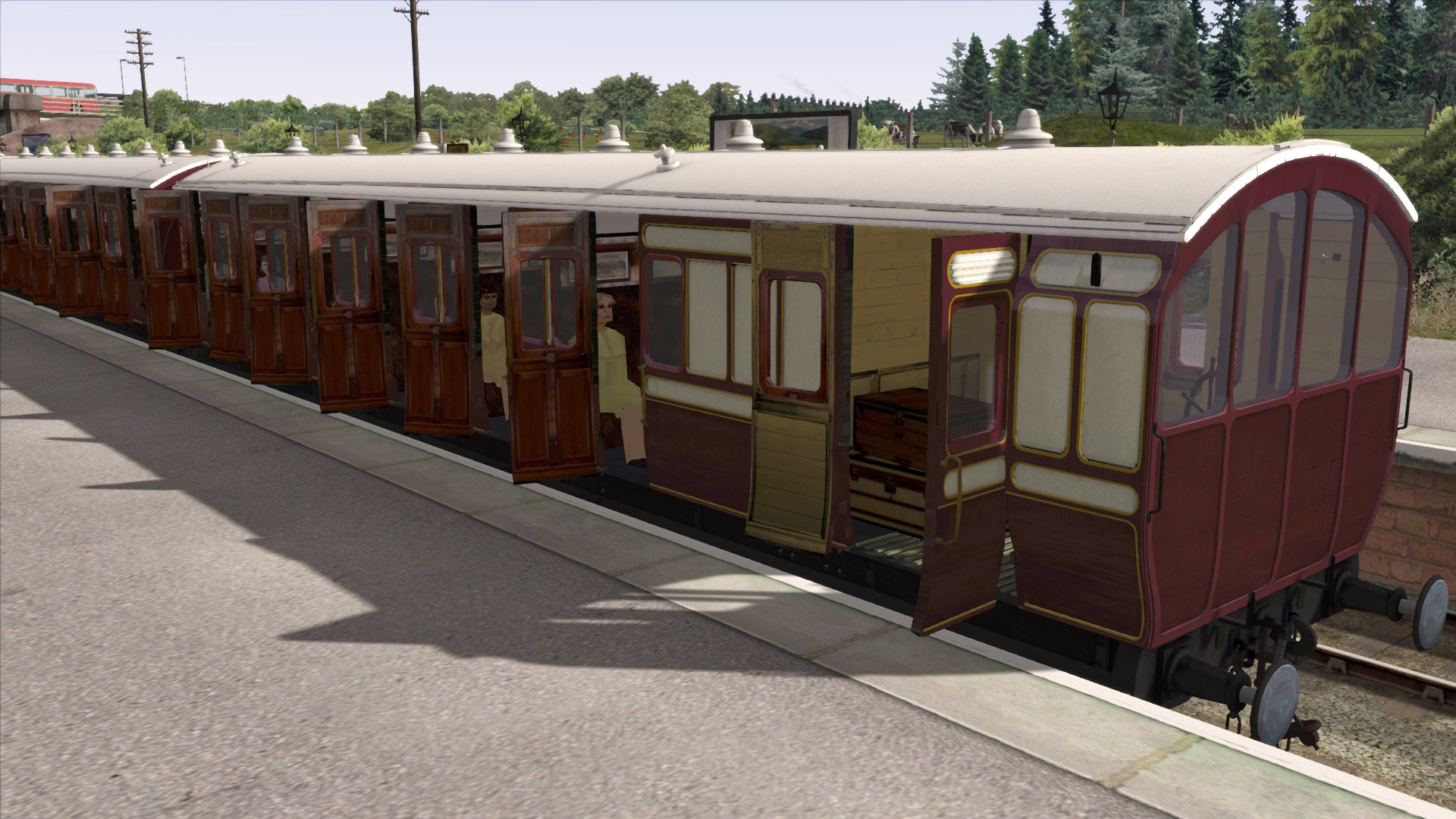 Ts Marketplace  Caledonian Railway 45ft Non