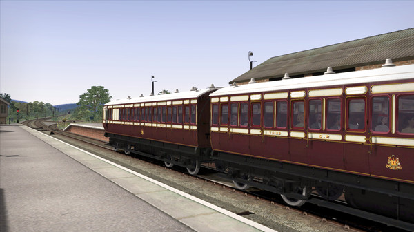 скриншот TS Marketplace: Caledonian Railway 45ft Non-Corridor - Caledonian Railway Add-On 1