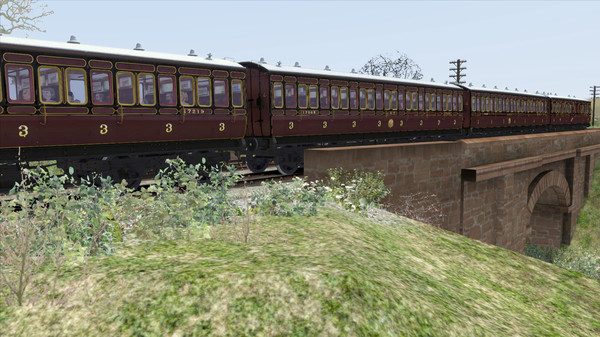 скриншот TS Marketplace: Caledonian Railway 45ft Non-Corridor - LMS Period 1 Add-On 3