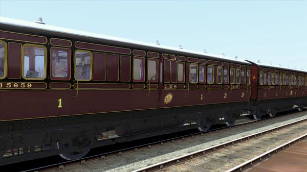скриншот TS Marketplace: Caledonian Railway 45ft Non-Corridor - LMS Period 1 Add-On 5