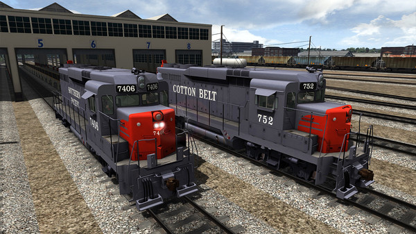 скриншот TS Marketplace: Southern Pacific/Cotton Belt GP30 Livery Add-On 3