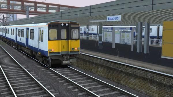 скриншот TS Marketplace: TfL Rail BR Class 315 EMU Livery Add-On 0