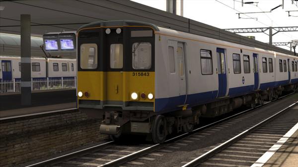 скриншот TS Marketplace: TfL Rail BR Class 315 EMU Livery Add-On 4