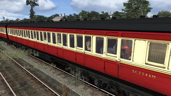 скриншот TS Marketplace: Caledonian Railway 65ft Grampian BR Crimson & Cream Coach Pack Add-On 1