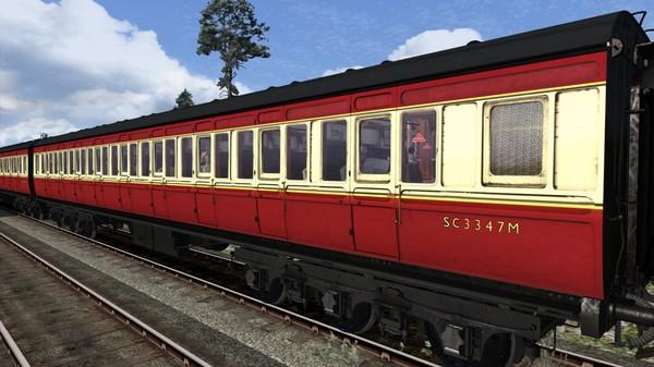 скриншот TS Marketplace: Caledonian Railway 65ft Grampian BR Crimson & Cream Coach Pack Add-On 4