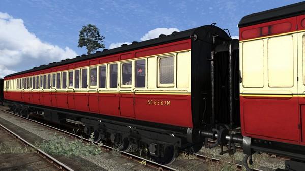 скриншот TS Marketplace: Caledonian Railway 65ft Grampian BR Crimson & Cream Coach Pack Add-On 0