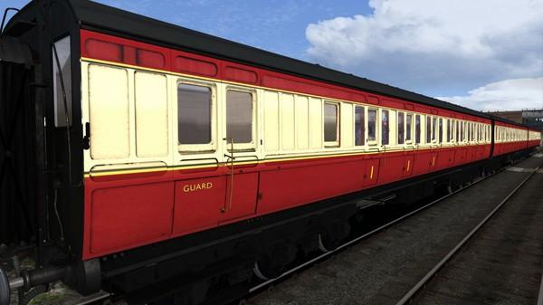 скриншот TS Marketplace: Caledonian Railway 65ft Grampian BR Crimson & Cream Coach Pack Add-On 5